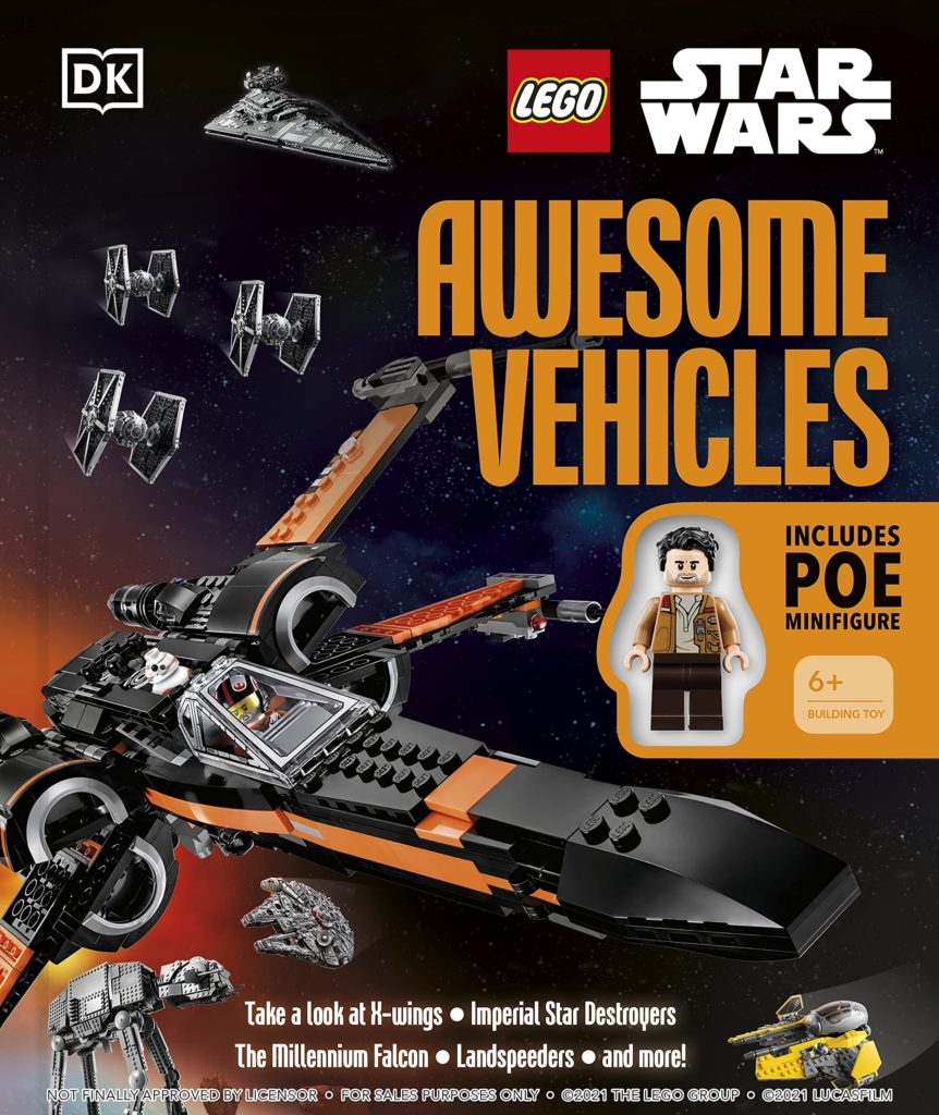 LEGO Star Wars Awesome Vehicles Buch 2022