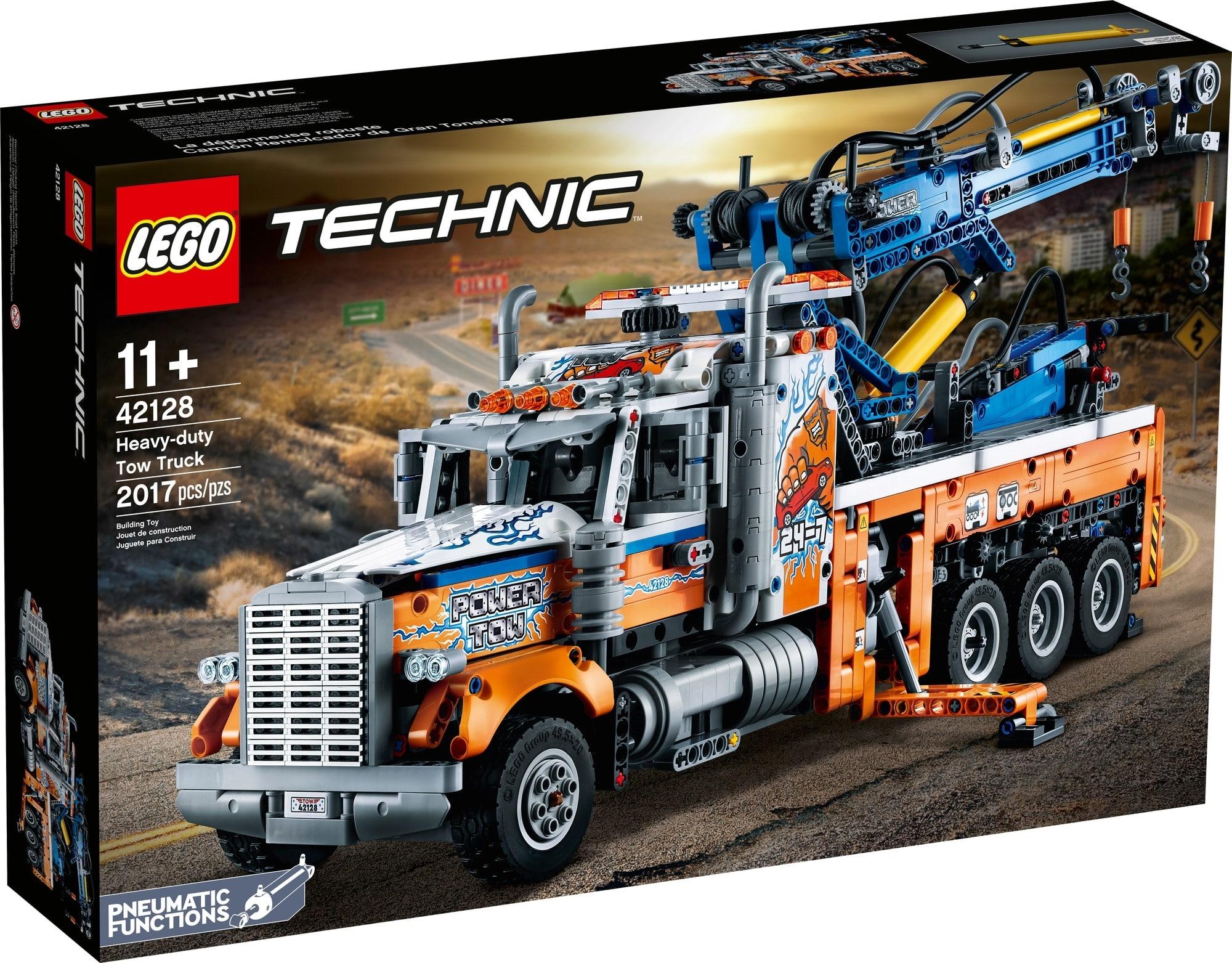 LEGO Technic 42128 Schwerlast Abschleppwagen 2