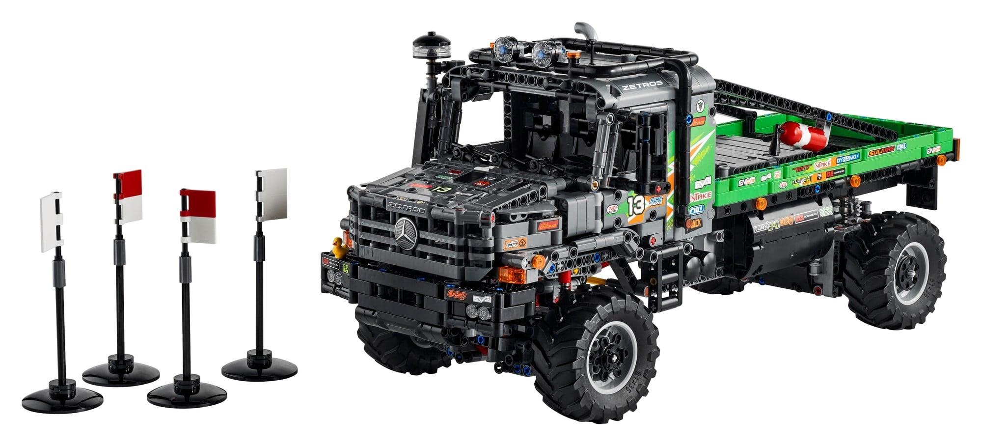 LEGO Technic 42129 4x4 Mercedes Benz Zetros Offroad Truck 1