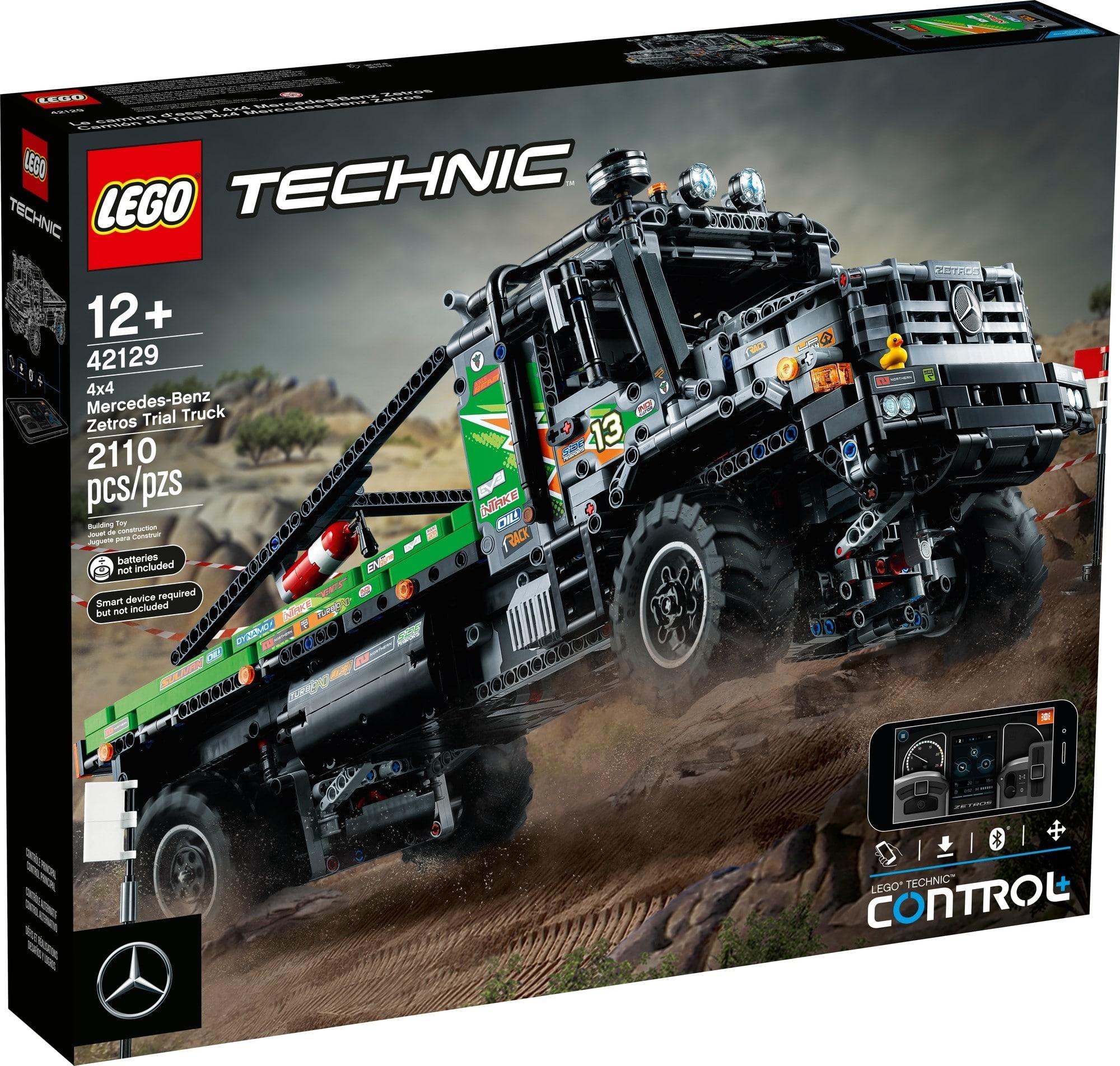 LEGO Technic 42129 4x4 Mercedes Benz Zetros Offroad Truck 2