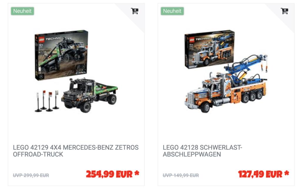 LEGO Technic Aktion Jb Spielwaren