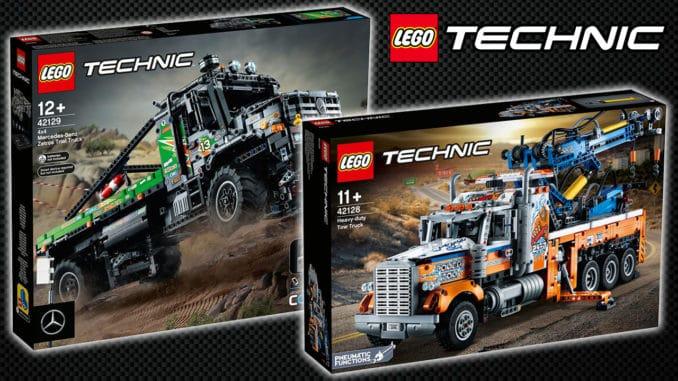 LEGO Technic August Neuheiten Vorstellung Titel