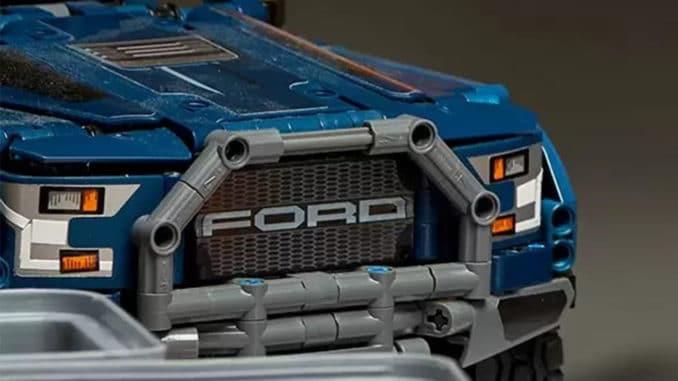 LEGO Technic Ford Raptor 42126 Blau