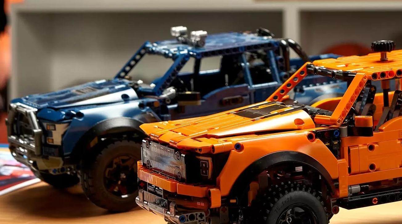 LEGO Technic Ford Raptor 42126 Blauer Prototyp