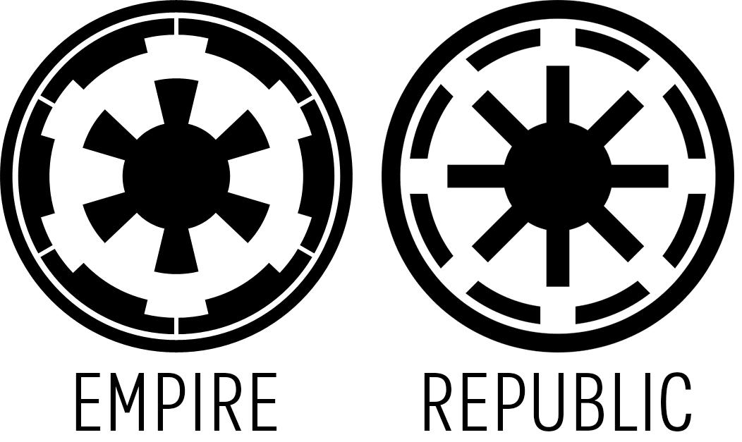 Logo Empire Vs Republic