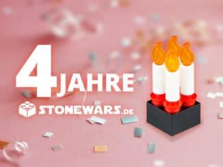 Stonewars 4 Jahre Titelbild
