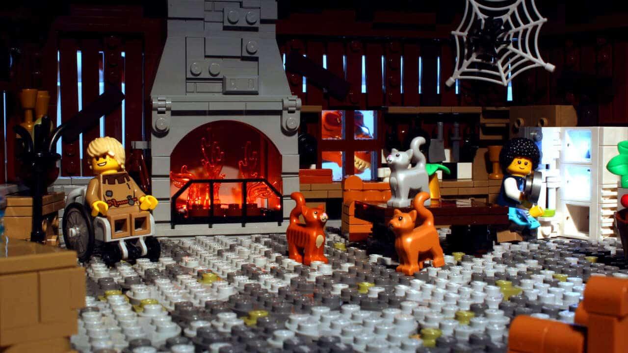 A Plus C LEGO Haensel Und Gretel Haus Innen
