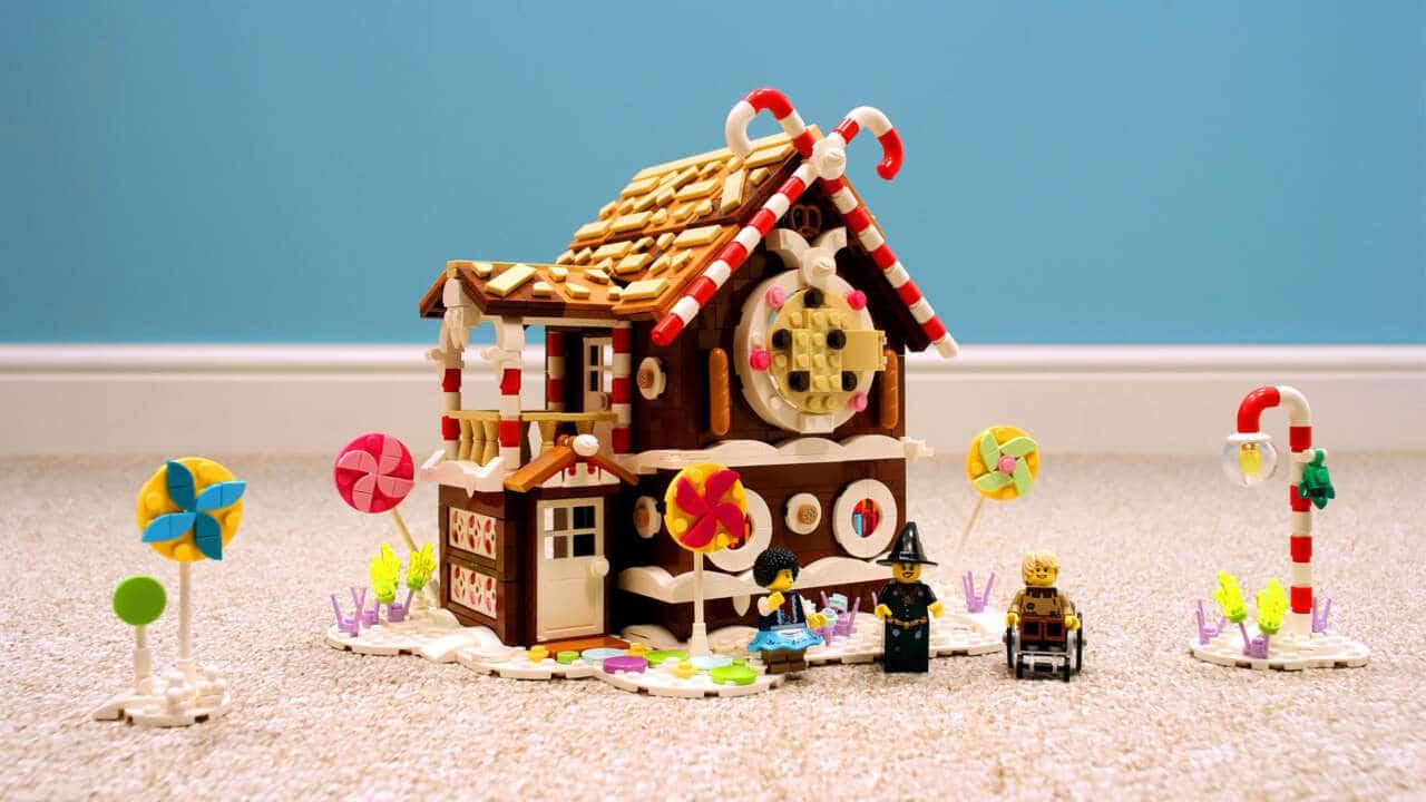 A Plus C LEGO Lebkuchenhaus Hexenhaus