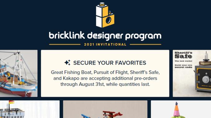 Bricklink Designer Program Runde 1