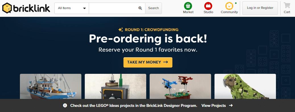 Bricklink Designer Program Verwirrung Startseite