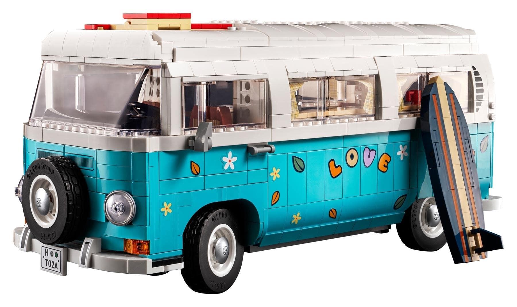 LEGO 10279 Volkswagen T2 Dekoration