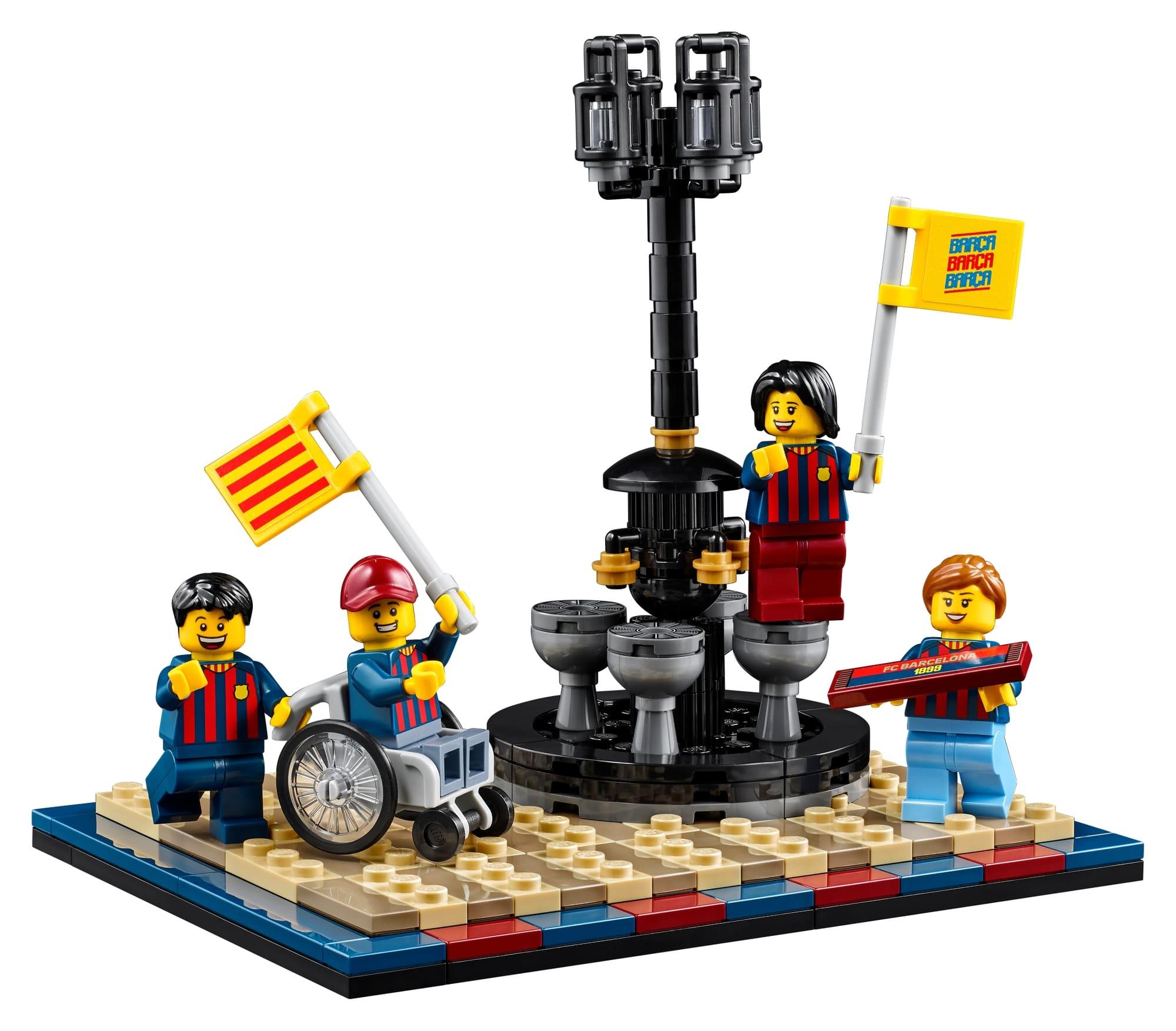 LEGO 40485 Fc Barcelona Celebration 1