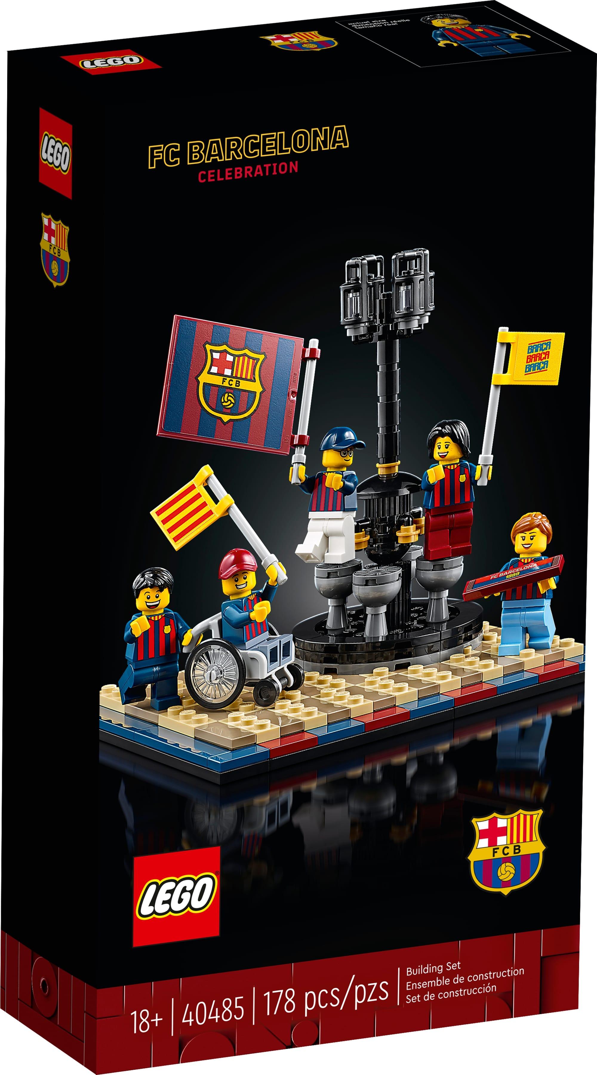 LEGO 40485 Fc Barcelona Celebration 2