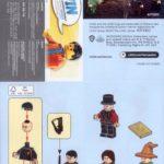 LEGO 40500 Minifiguren Aus Der Zauberwelt Anleitung Vorne