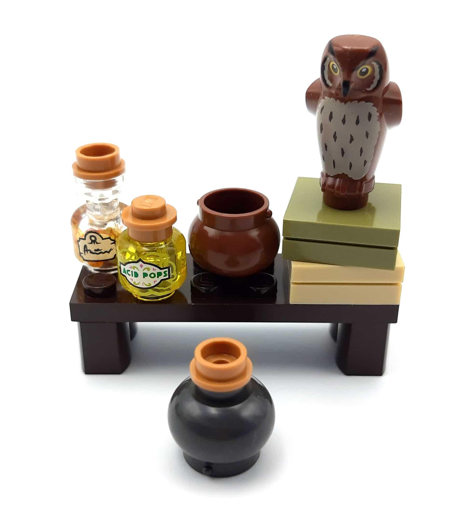 LEGO 40500 Minifiguren Aus Der Zauberwelt Modifikation