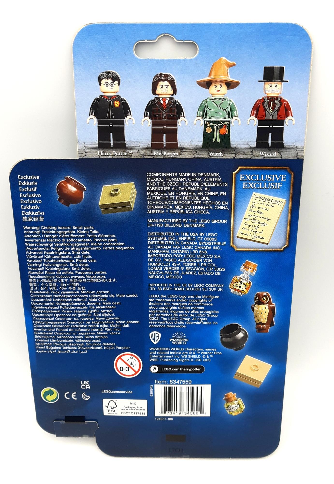 LEGO 40500 Minifiguren Aus Der Zauberwelt Verpackung Hinten