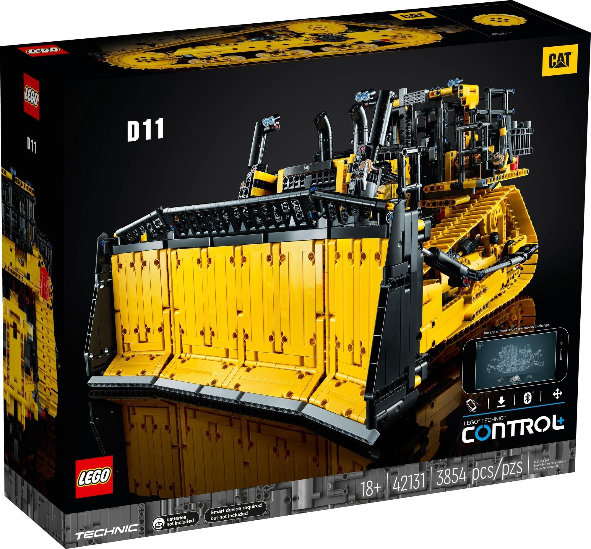 LEGO 42131 Appgesteuerter Cat D11 Bulldozer 2