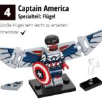 LEGO 71031 Marvel Minifiguren Feel Guide Captain America