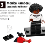 LEGO 71031 Marvel Minifiguren Feel Guide Monica Rambeau