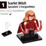 LEGO 71031 Marvel Minifiguren Feel Guide Scarlet Witch