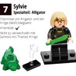 LEGO 71031 Marvel Minifiguren Feel Guide Sylvie