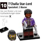 LEGO 71031 Marvel Minifiguren Feel Guide Tchalla Star Lord