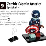 LEGO 71031 Marvel Minifiguren Feel Guide Zombie Captain America