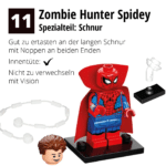 LEGO 71031 Marvel Minifiguren Feel Guide Zombie Hunter Spidey