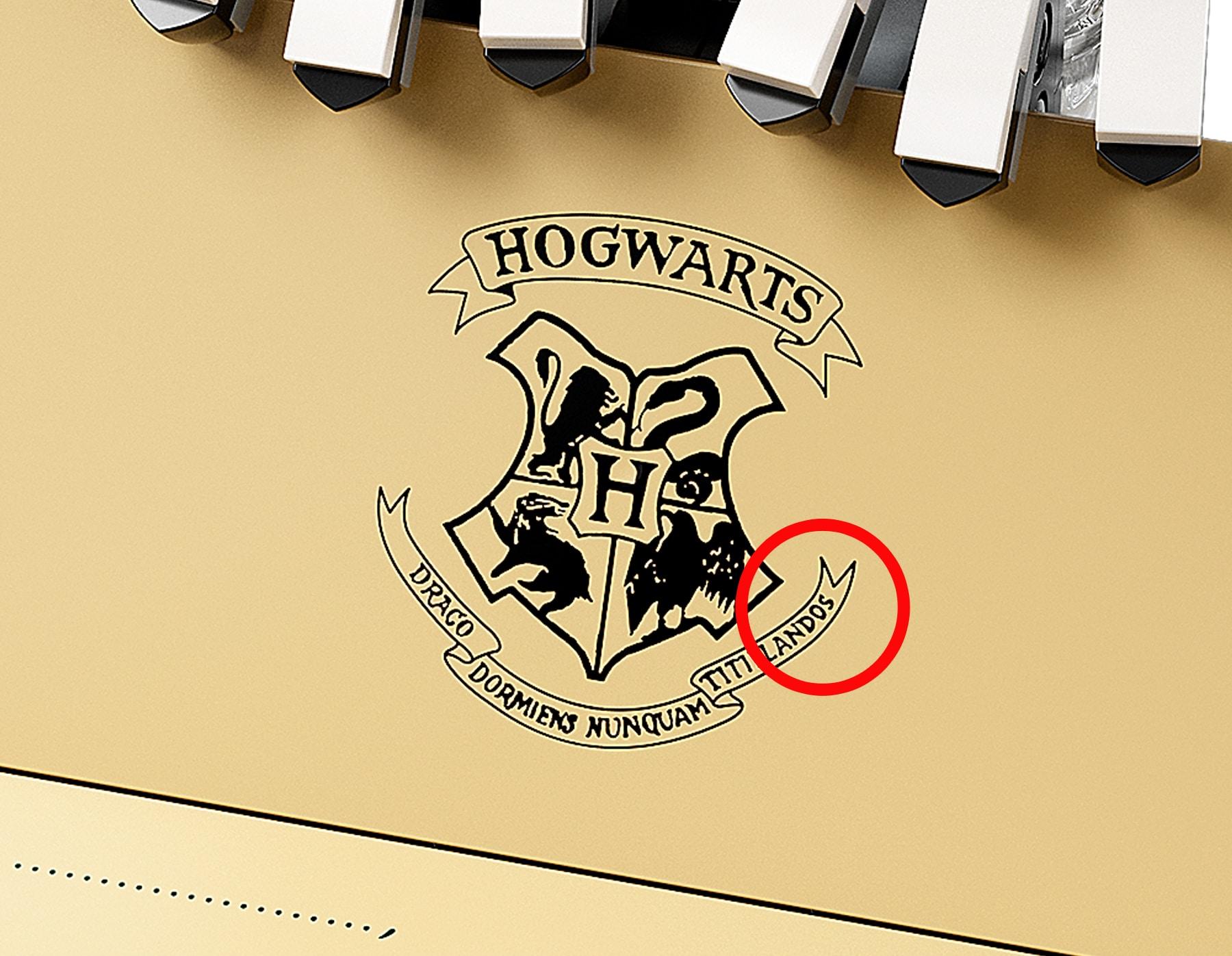 LEGO 76391 Hogwarts Icons Eastereggs 9