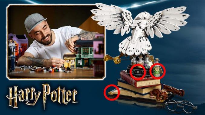 LEGO 76391 Hogwarts Icons Eastereggs Titel