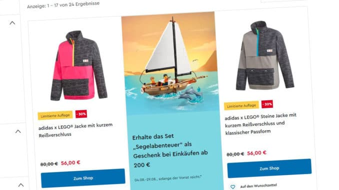 LEGO Adidas Sale LEGO Onlineshop