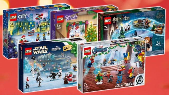 LEGO Adventskalender 2021