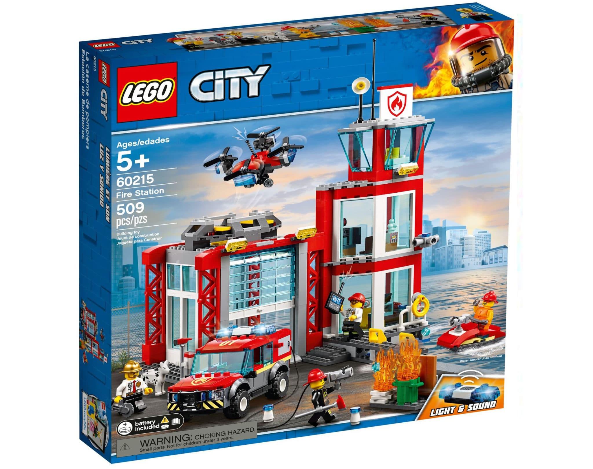 LEGO City 60215 Feuerwehr Station