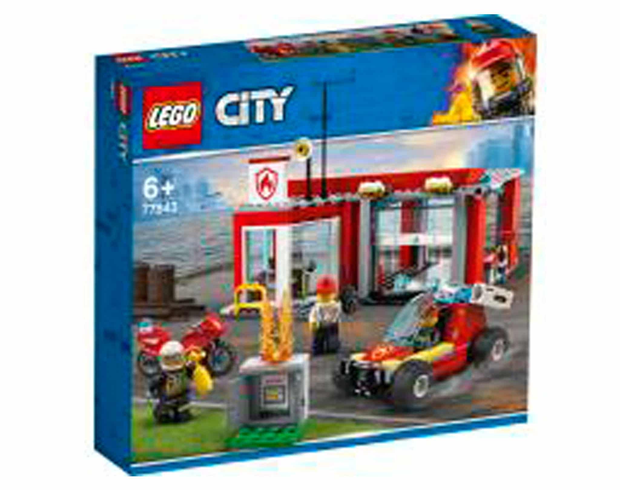 LEGO City 77943 Feuerwache Starterset