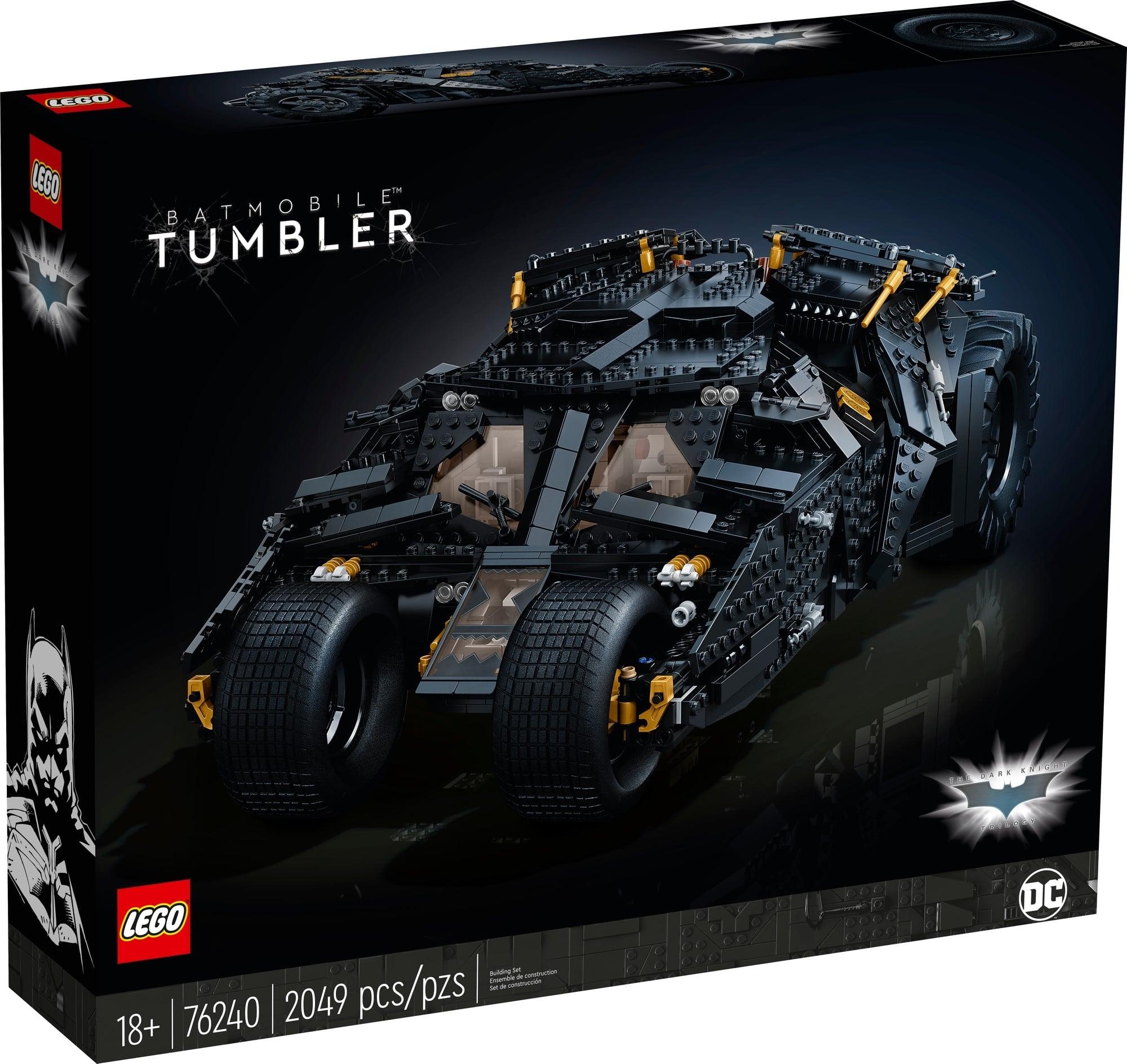 LEGO Dc 76240 LEGO Dc Batman Batmobile Tumbler 2