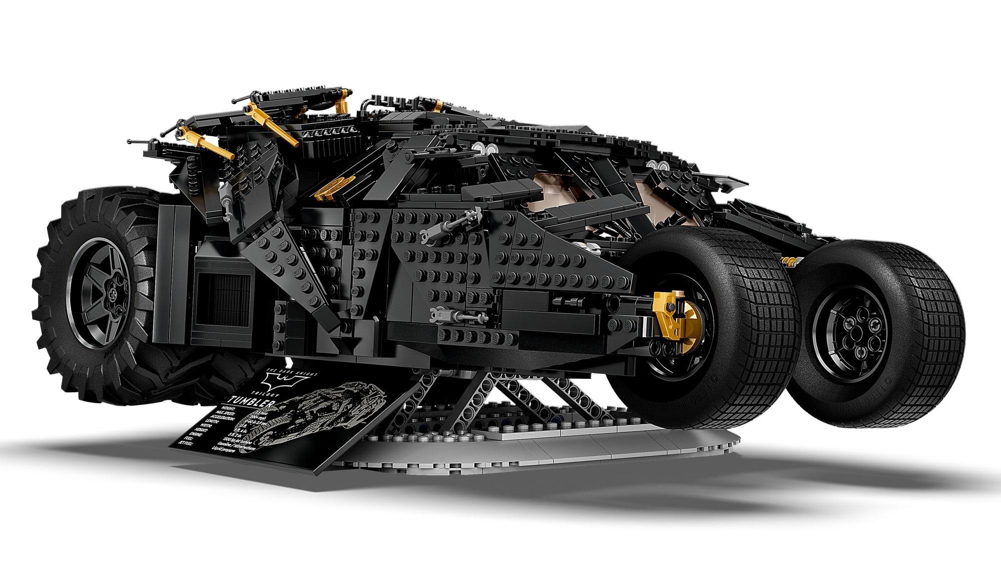 LEGO Dc 76240 LEGO Dc Batman Batmobile Tumbler 5