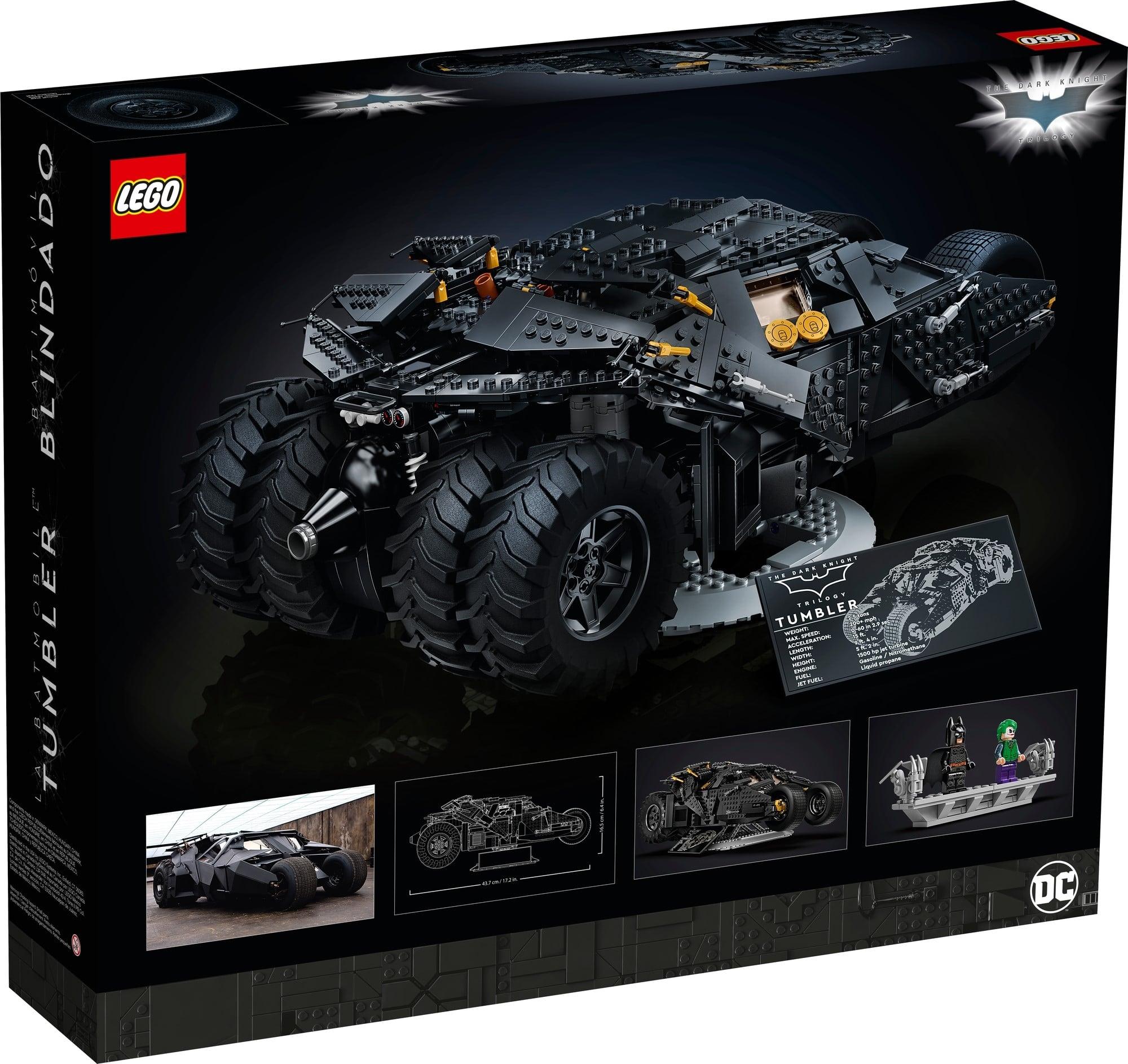 LEGO Dc 76240 LEGO Dc Batman Batmobile Tumbler 7