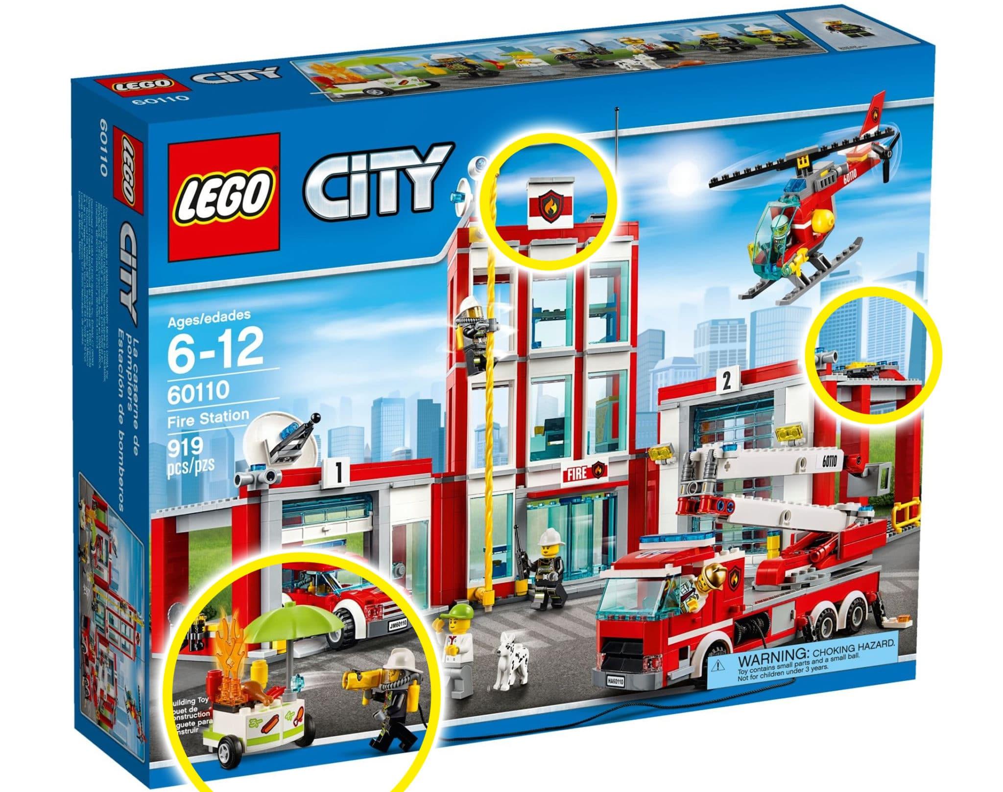 LEGO Feuerwehr Vergleich 77944 60110