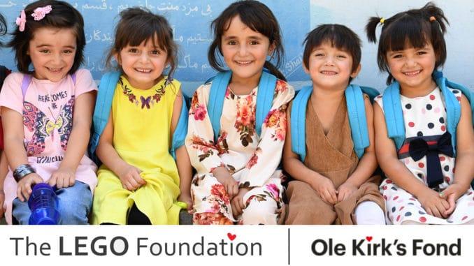 LEGO Foundation Spende Afghanistan Haiti Titel