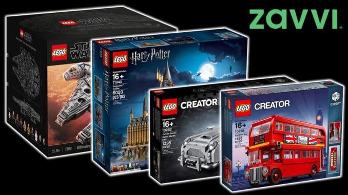LEGO Geburtstagsangebote Zavvi