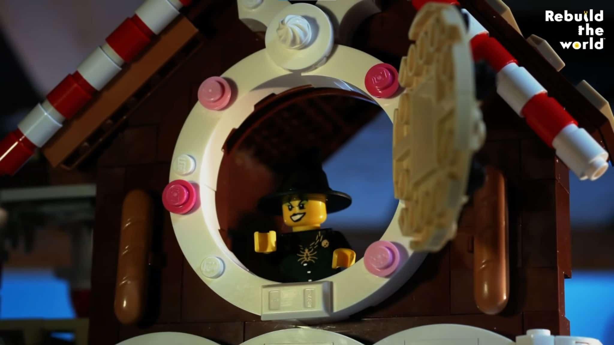 LEGO Haensel Und Gretel Lebkuchen Haus 04