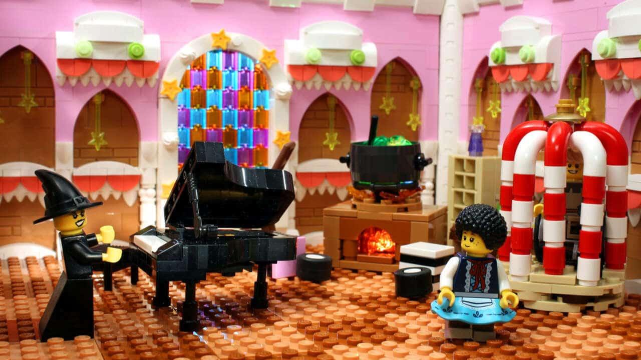 LEGO Haensel Und Gretel Lebkuchen Haus Innen