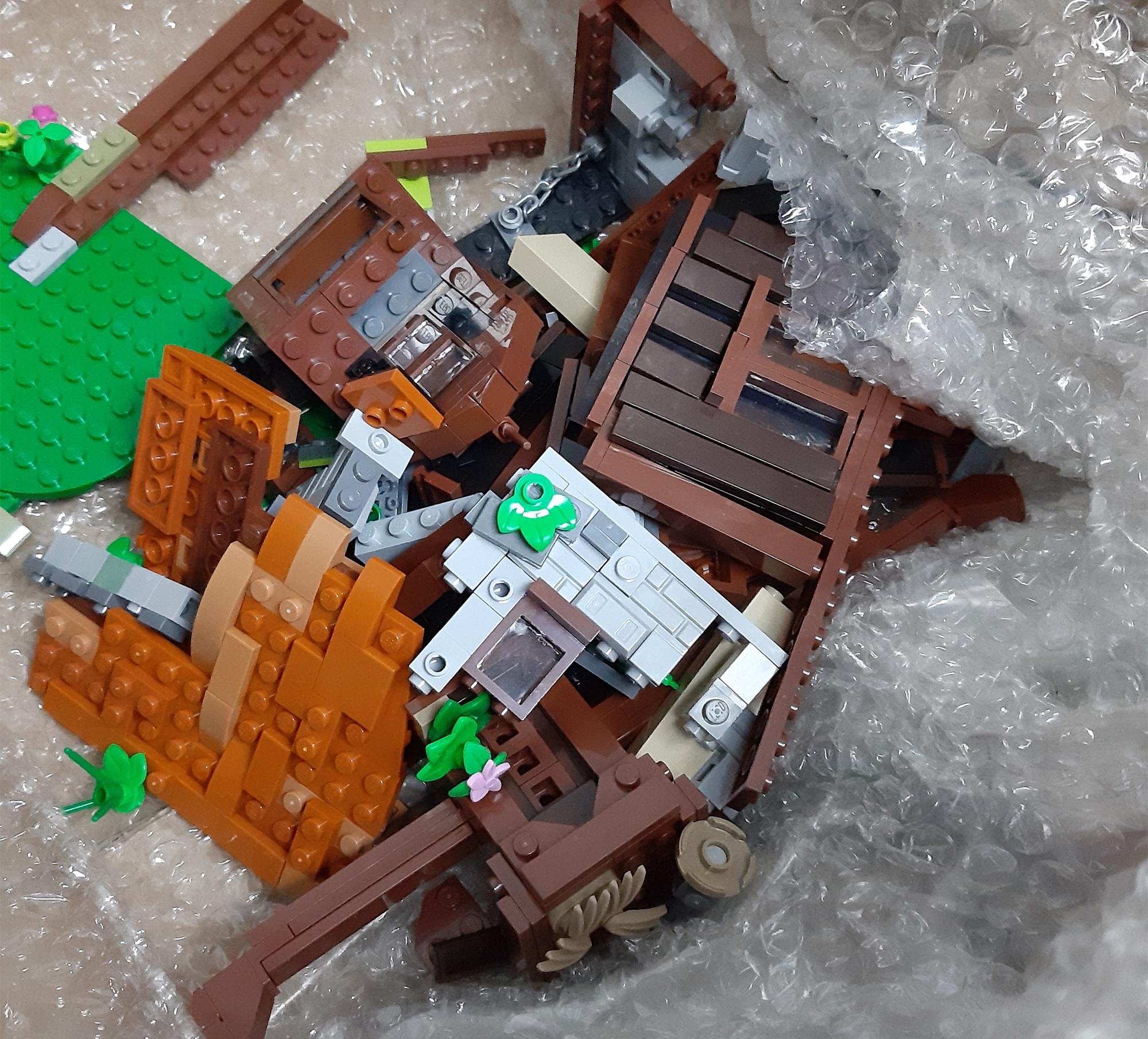 LEGO Haensel Und Gretel Versand Probleme