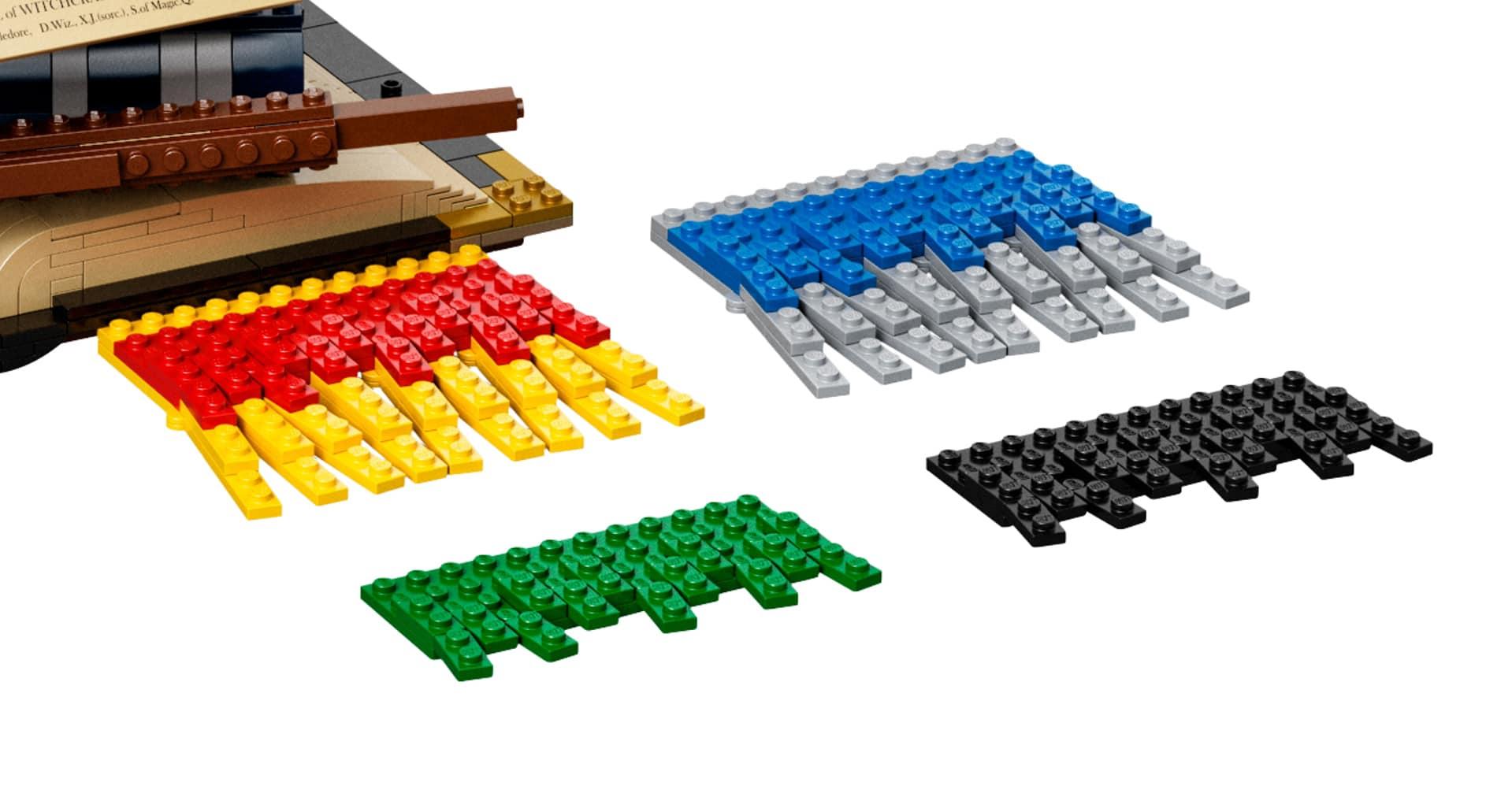LEGO Harry Potter 76391 Hogwarts Icons Schal