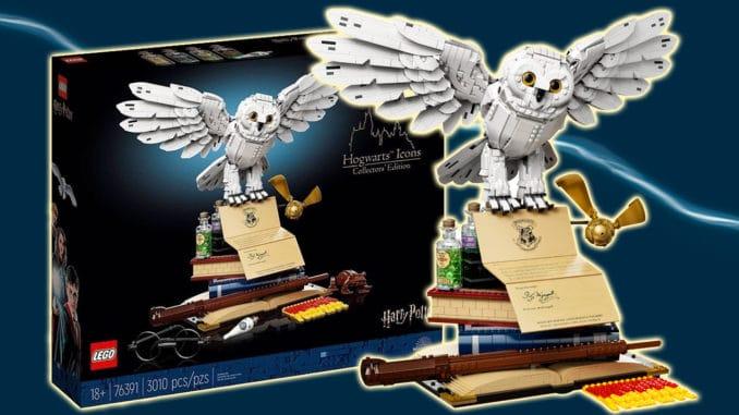 LEGO Harry Potter 76391 Hogwarts Icons Titel