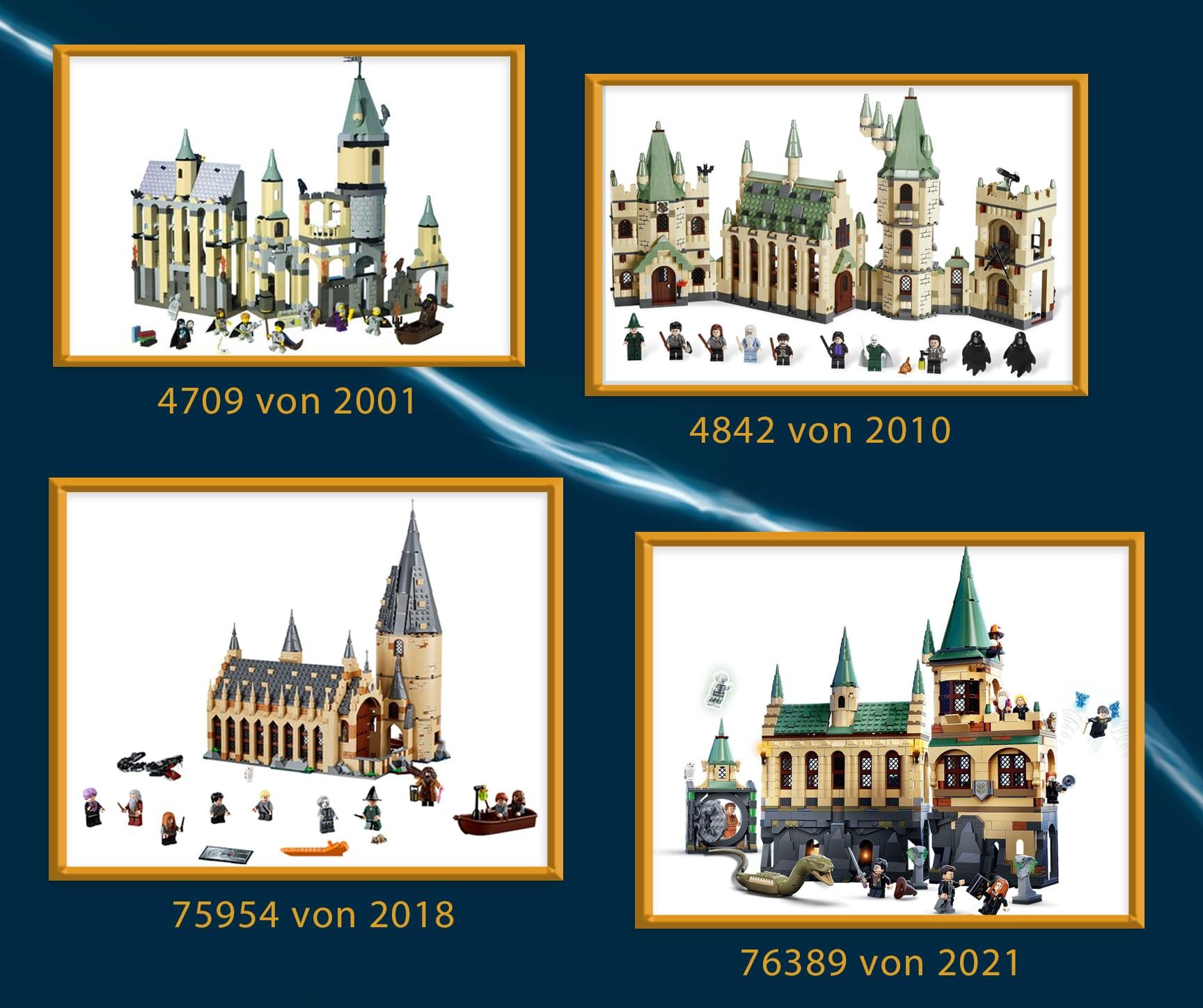 LEGO Harry Potter Hogwarts Schloss Vergleich 02
