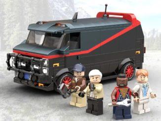 LEGO Ideas A Team Van (1)