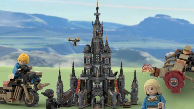 LEGO Ideas Hyrule Castle 30 Anniversary (1)