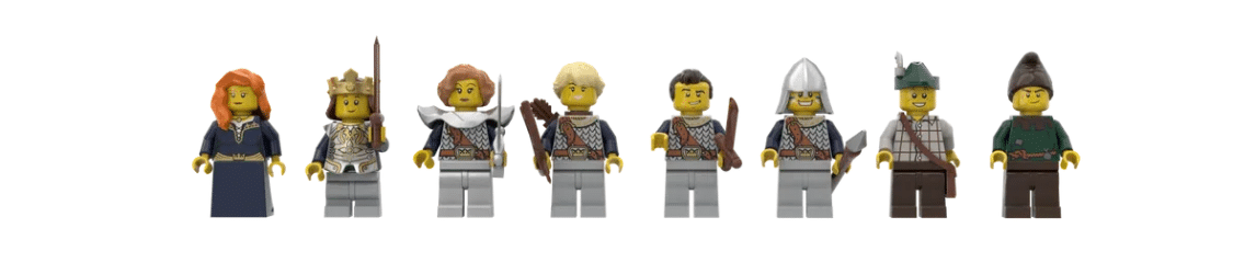 LEGO Ideas Medieval Fortress (12)