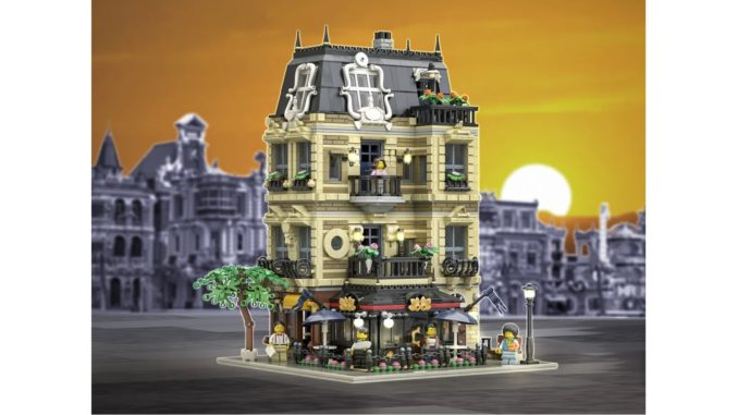 LEGO Ideas The Apartment (1) Titel